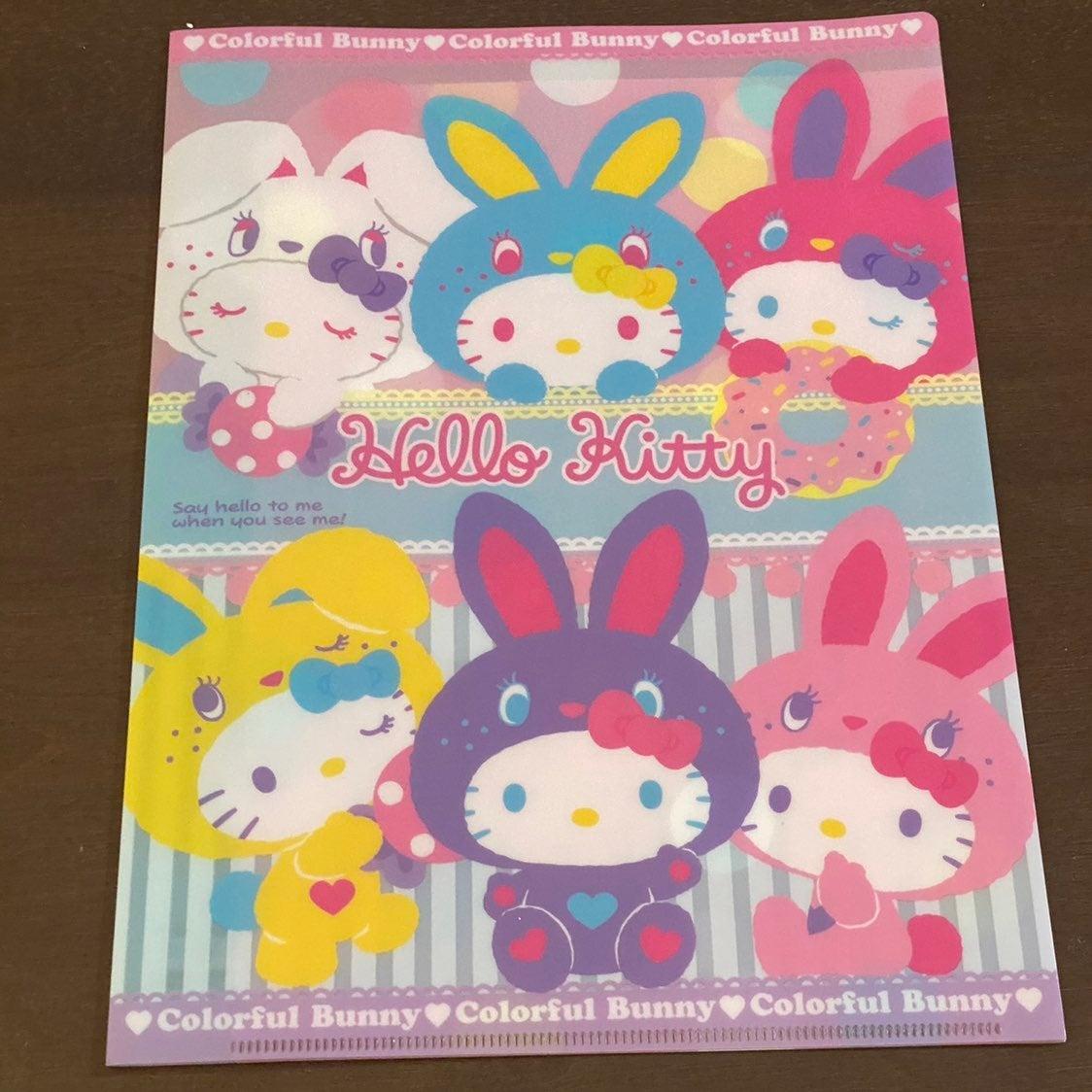 San-x/Sanrio Hello  Kitty  plastic folde