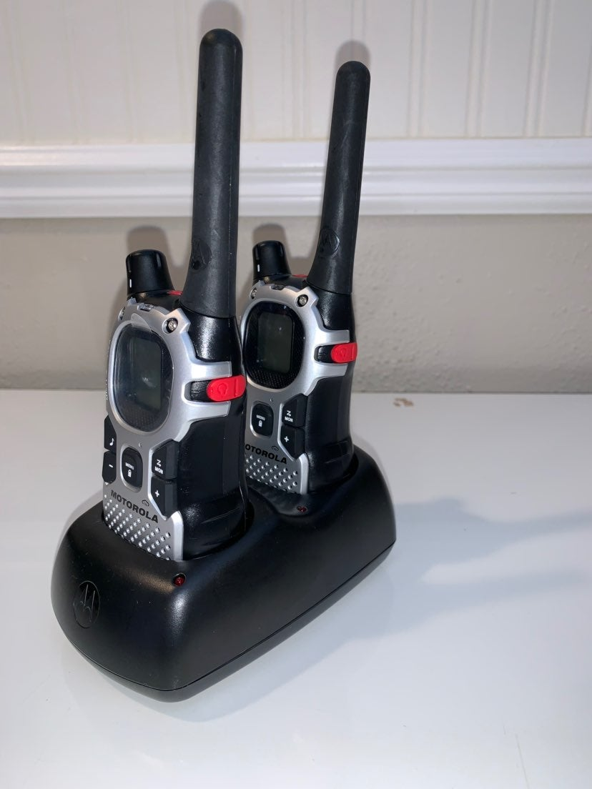 Motorola Talk about MJ270r Walkie Talkie