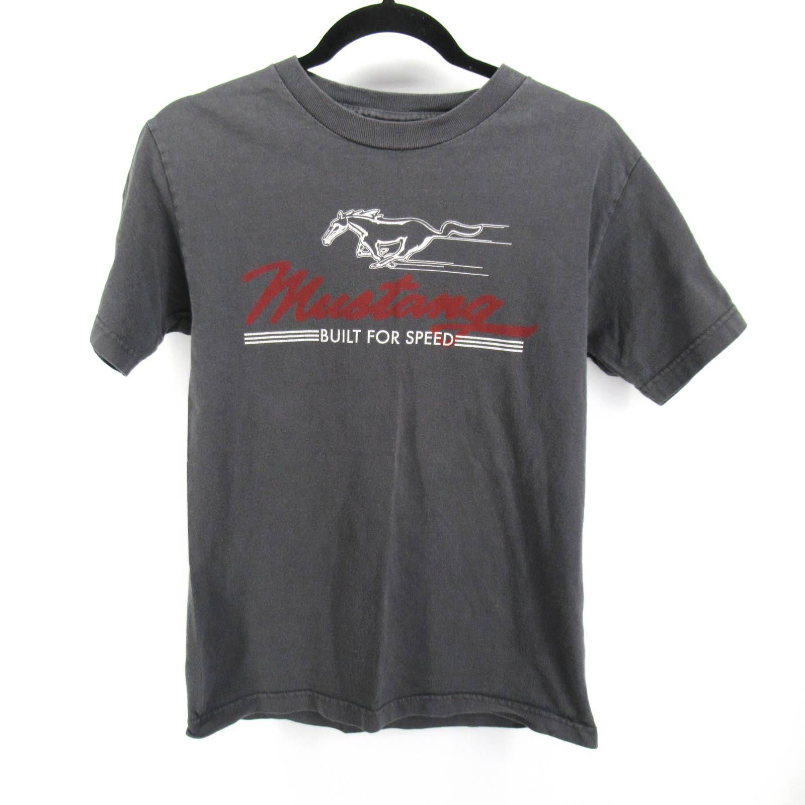 Vintage Ford Mustang Speed T Shirt Tee