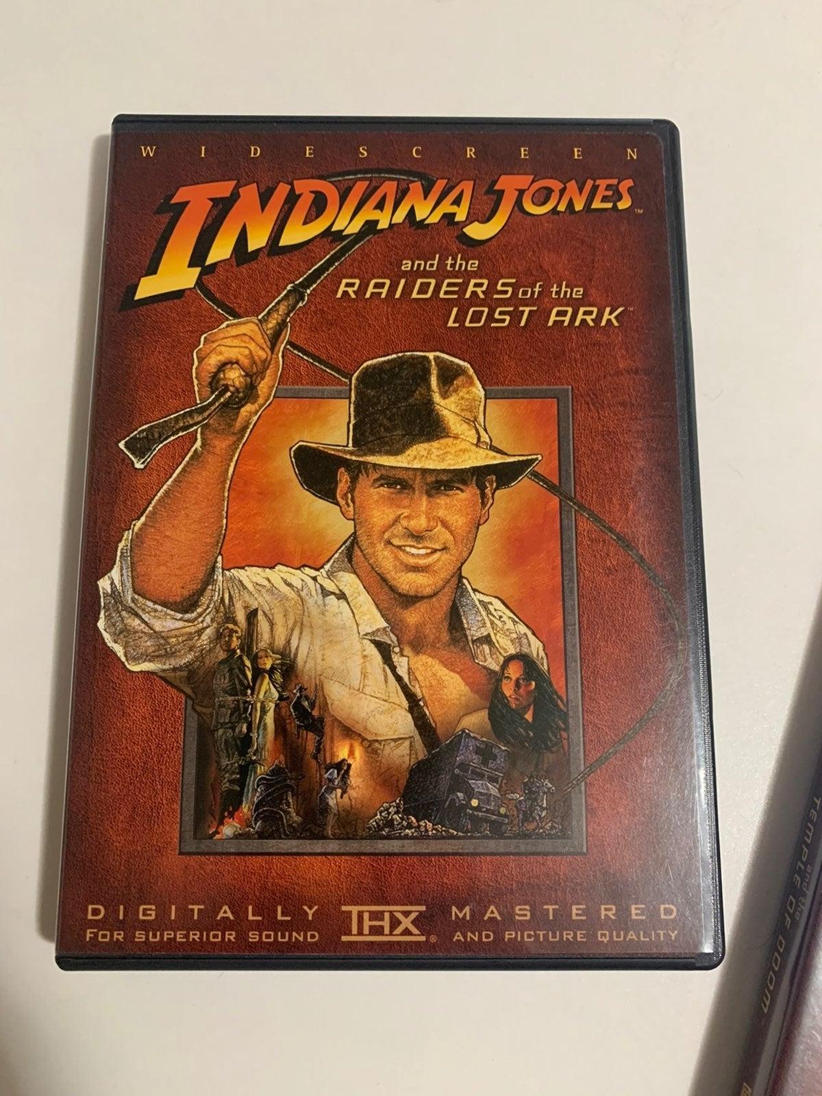 Indiana Jones Triology - DVD