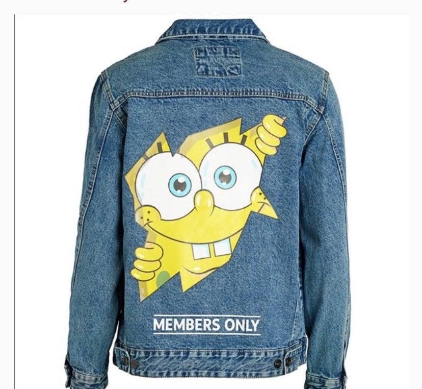 Members Only Nickelodeon Denim Jacket