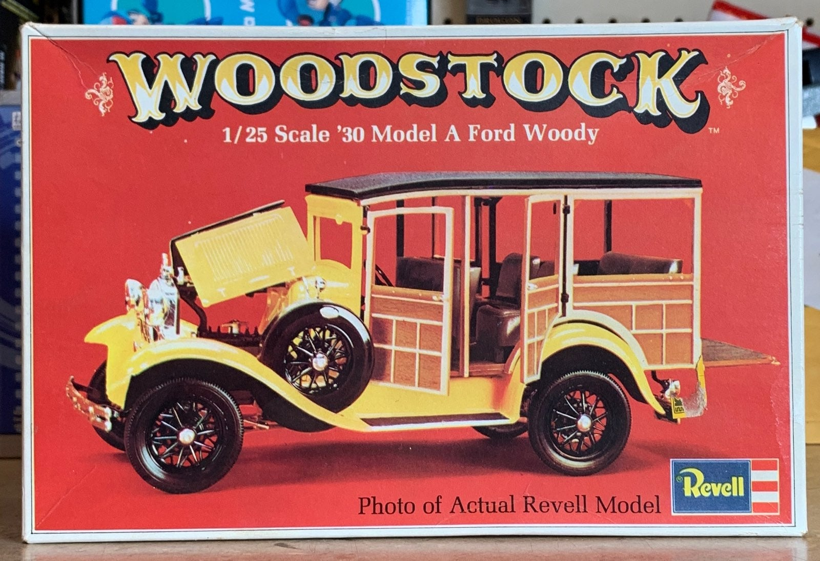 Revell 1/25 Scale '30 Model A Ford Woody