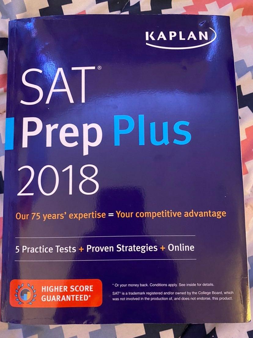 Kaplan SAT Prep Plus