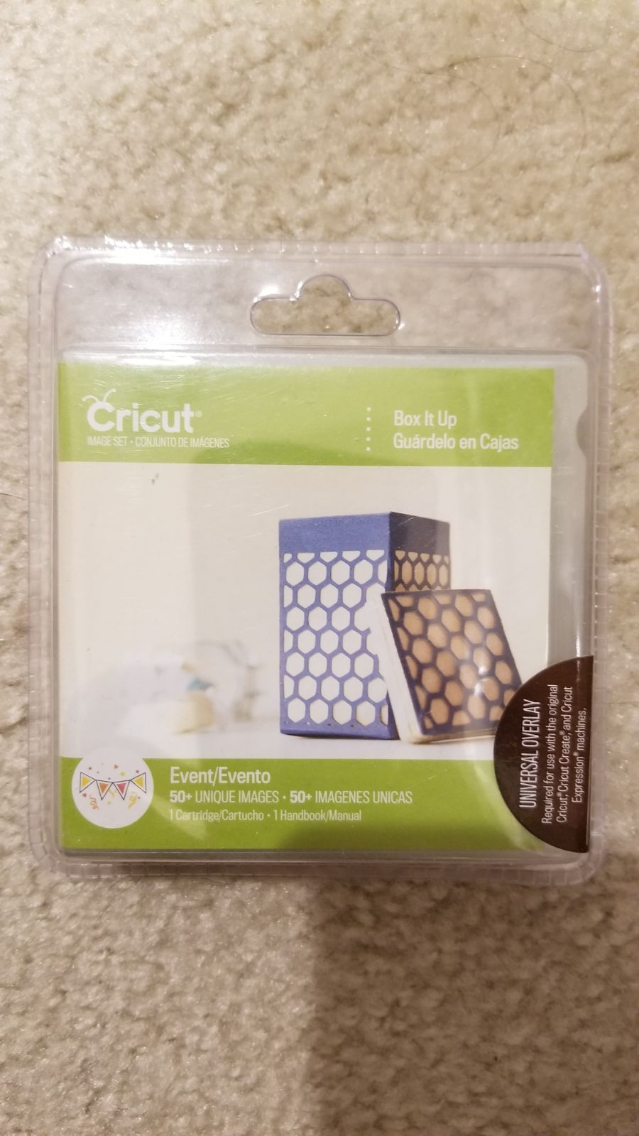 NEW Box It Up Cricut UNLINKED cartridge