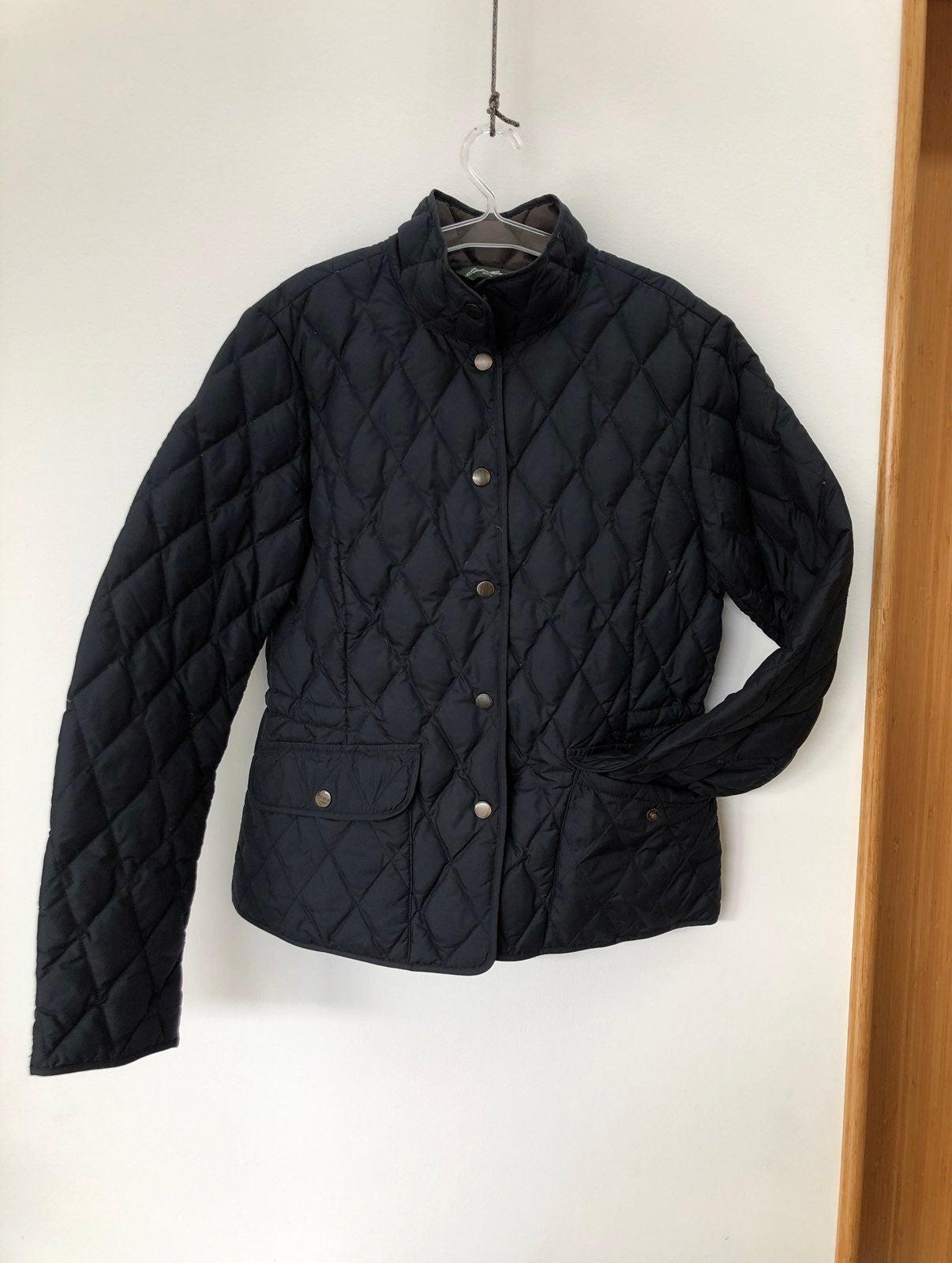 Eddie Bauer quilted down blazer Jacket S