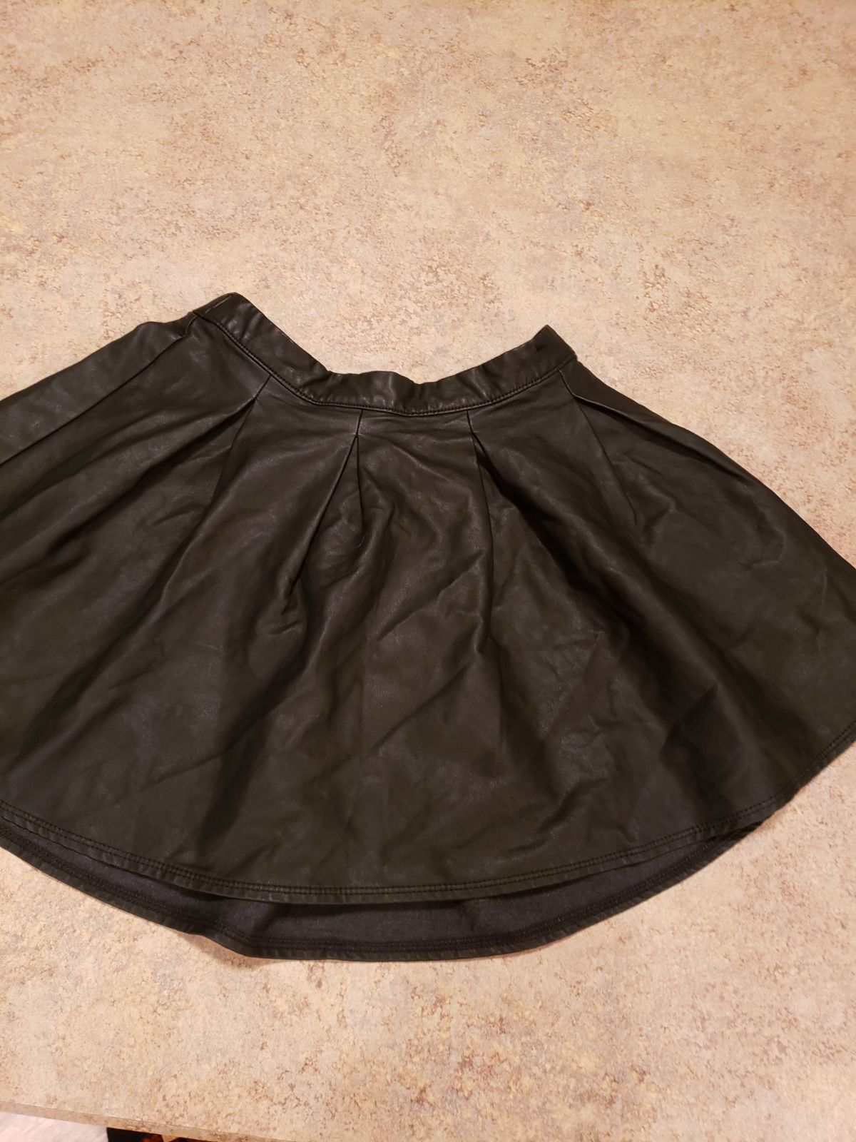 Abercrombie Kids Faux Leather Skirt