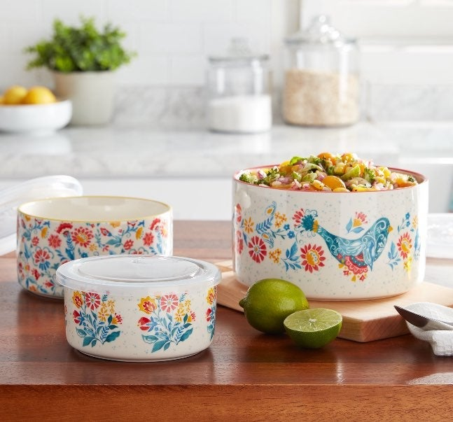 New Pioneer Woman Containers Set