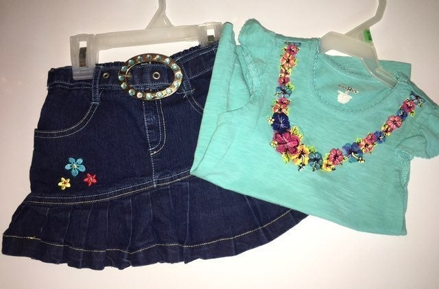 4-toddler Denim Outfit