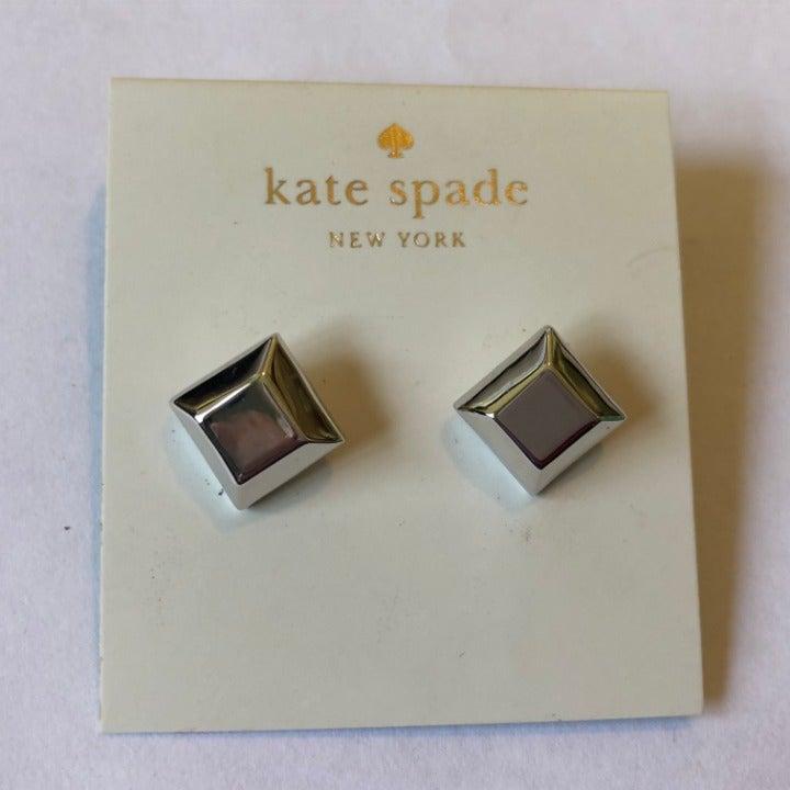 kate spade New York Silver Tone Earrings