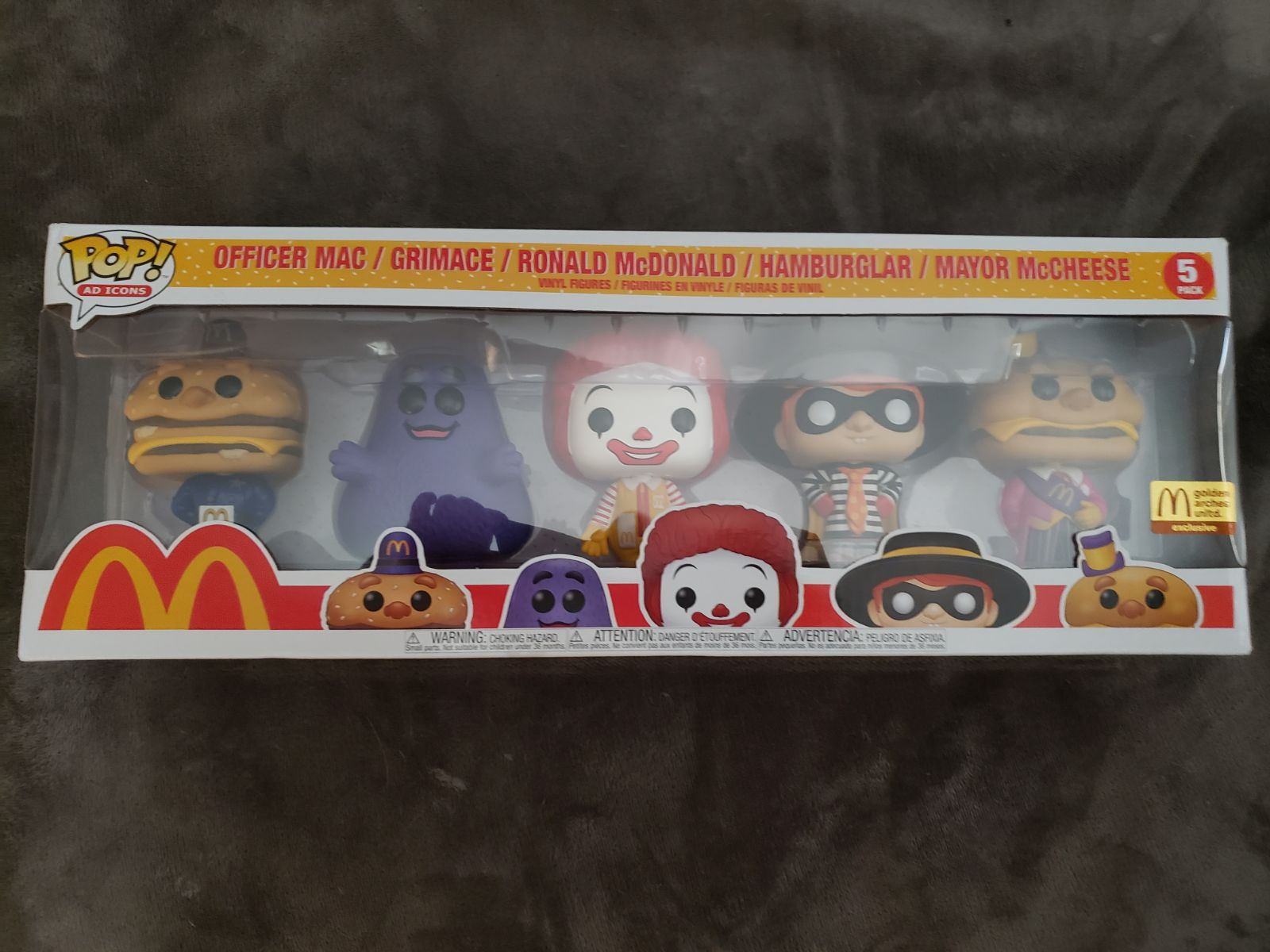 McDonald's Limited Edition 5-Pack Funko