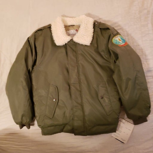 One of a kind Bomber Jacket New w/tags W