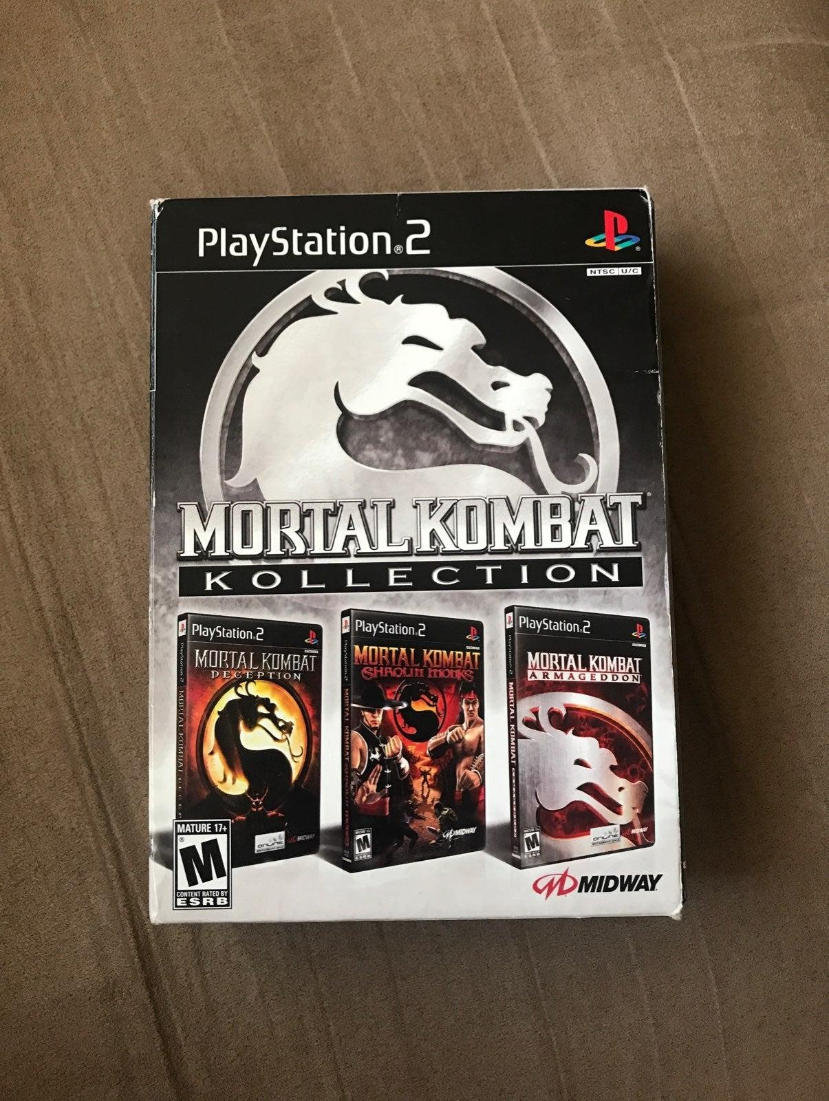 PS2 Mortal Kombat Kollection Set