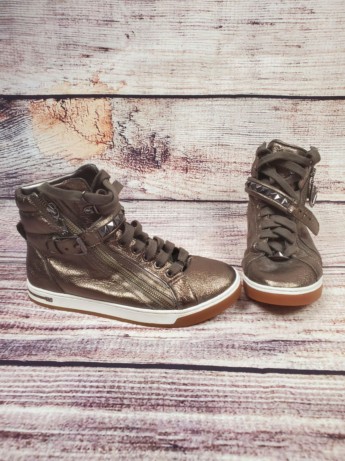 Michael Kors Studded Hi Top Sneaker