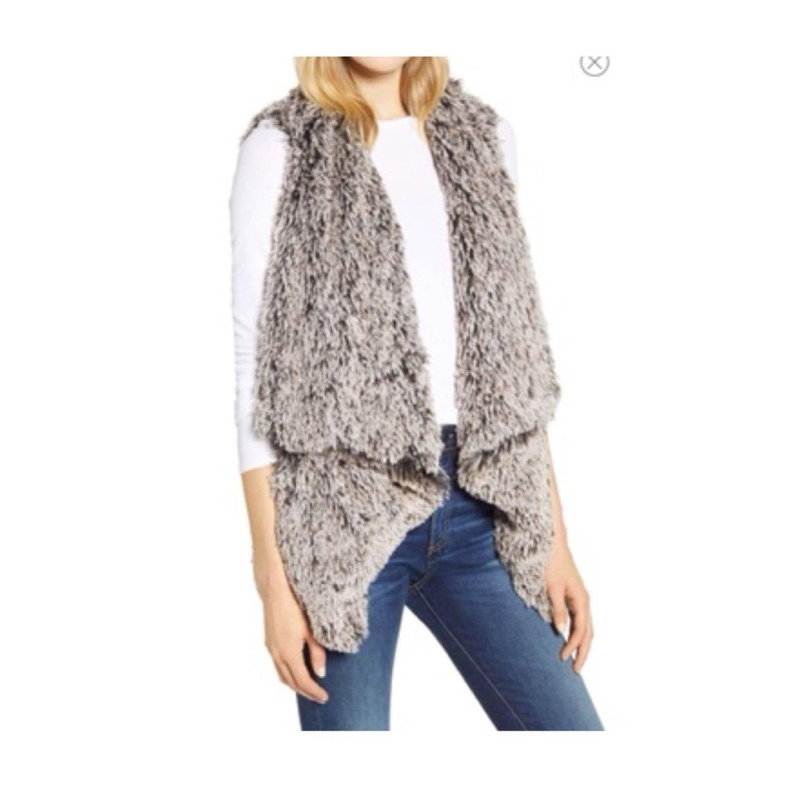 Wit and wisdom Cascade Faux Fur Vest