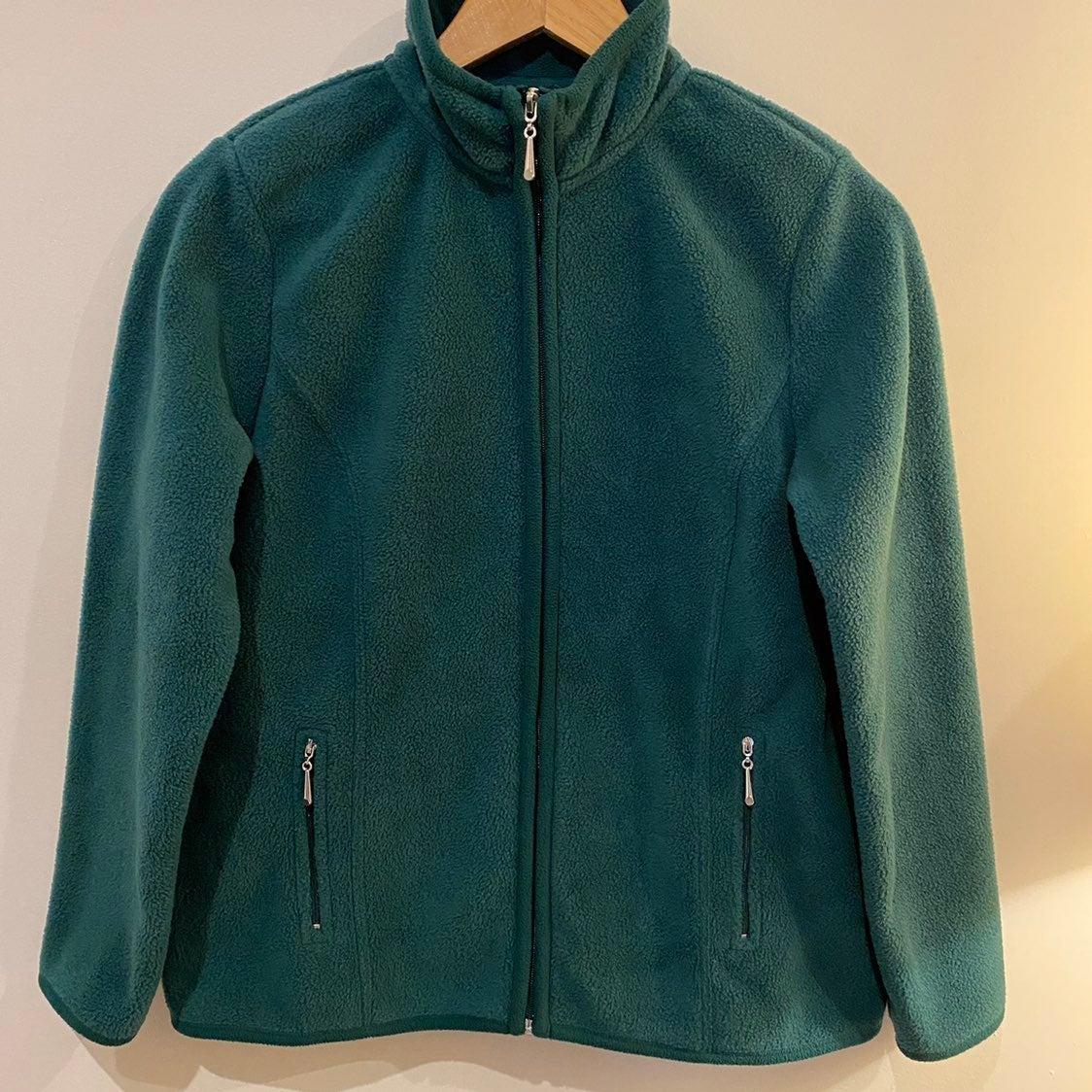 Karen Scott Women Fleece Sport Jacket