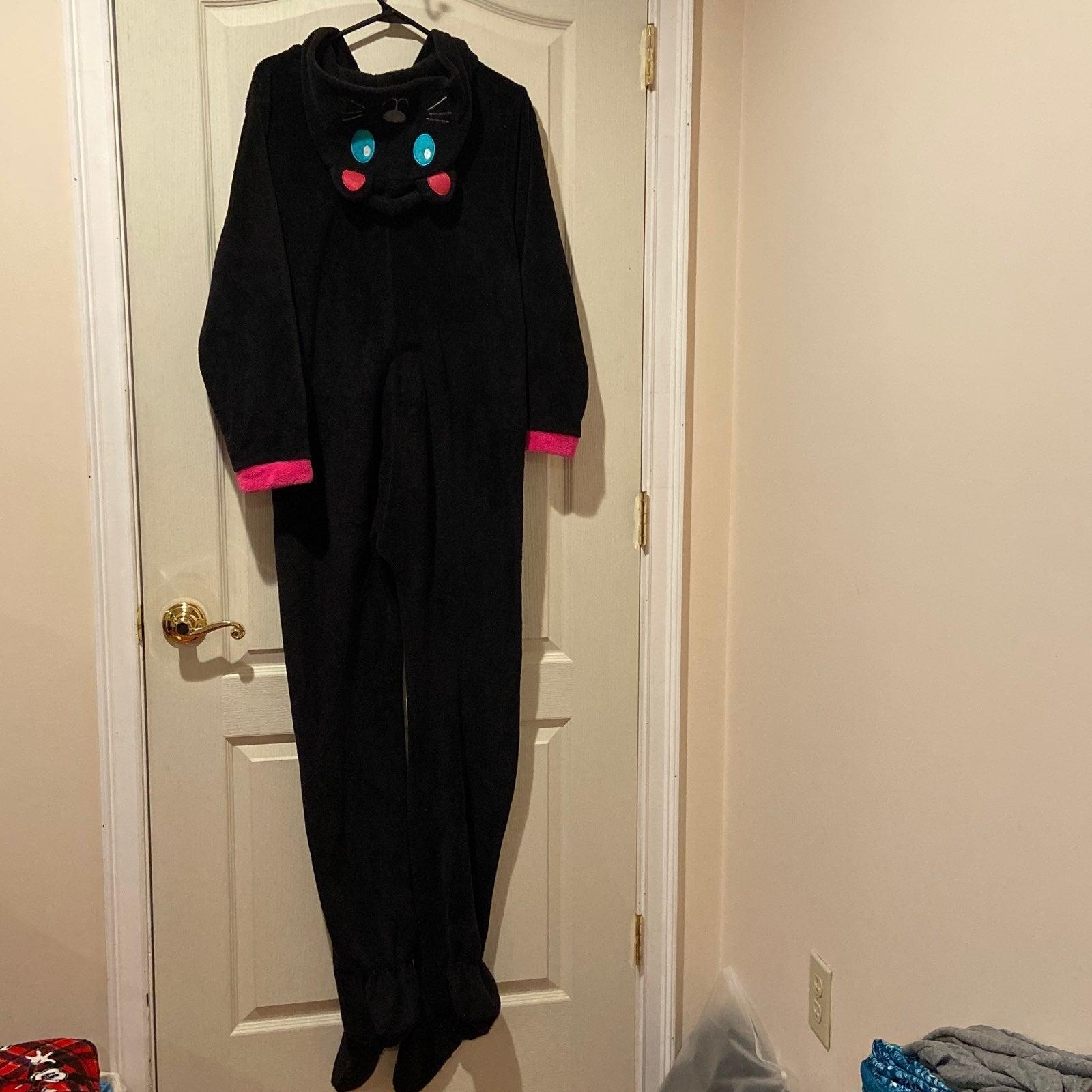 PJ Couture - Hooded Cat Onesie Pajamas