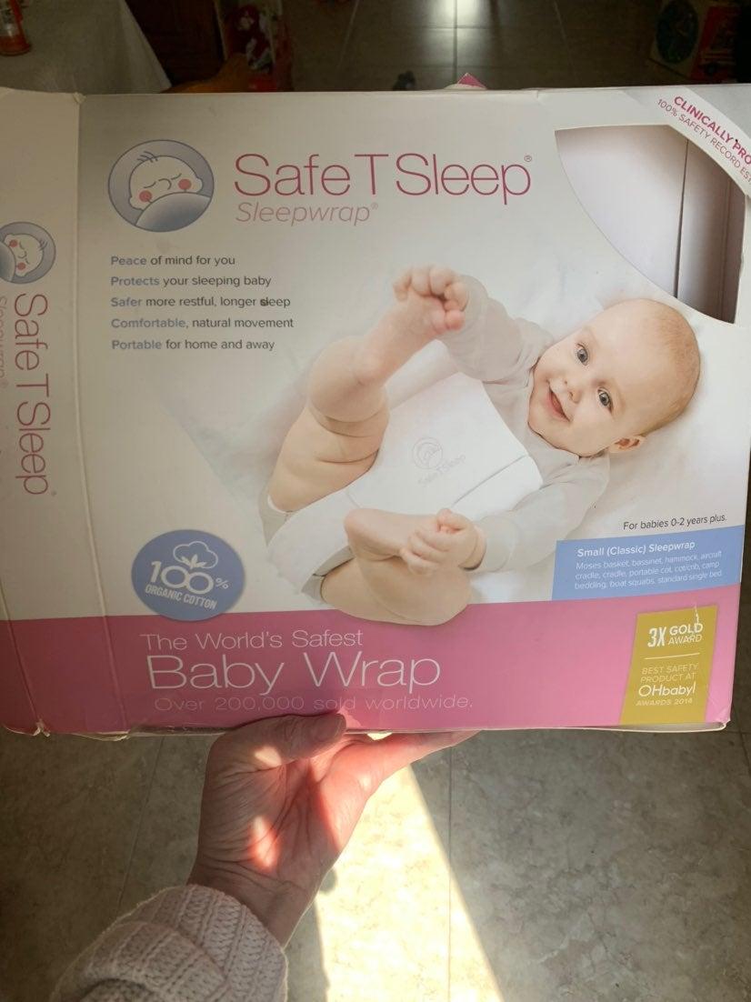 Safe t sleep cric carry cot wrap