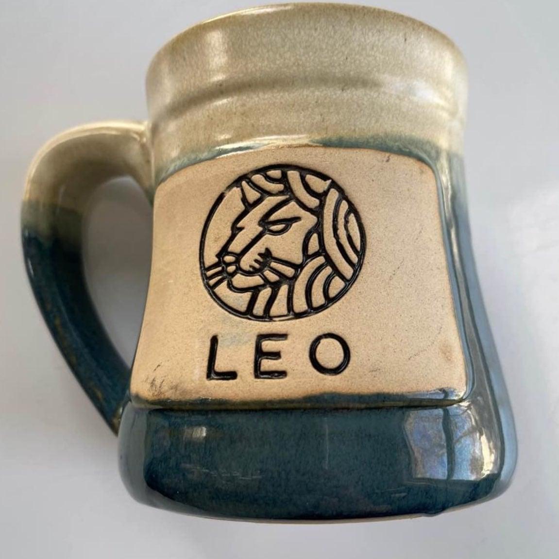 Tankard zodiac mug Leo