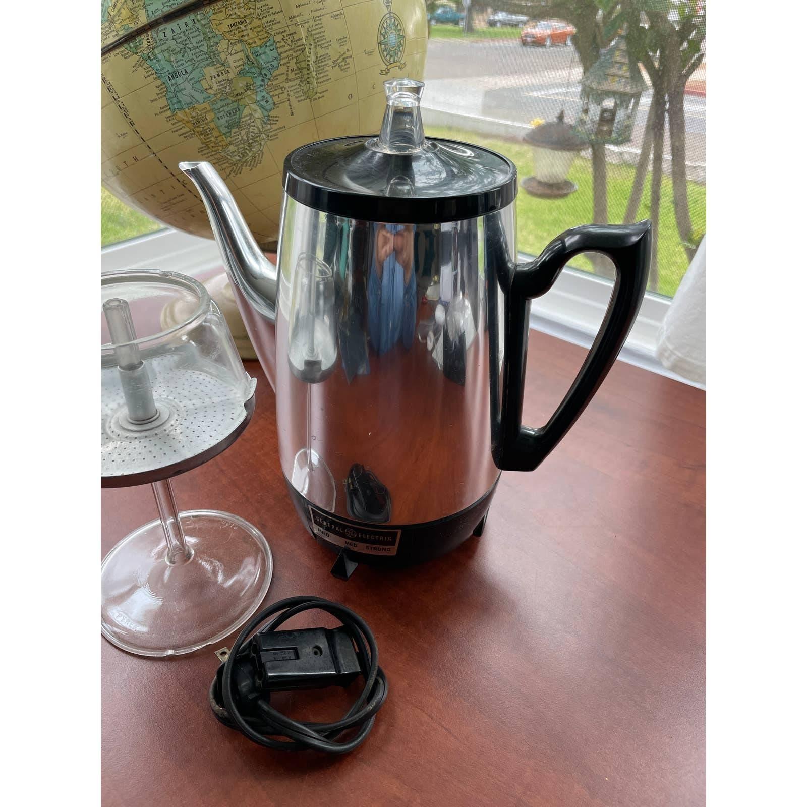 Vintage GE Electric Coffee Maker