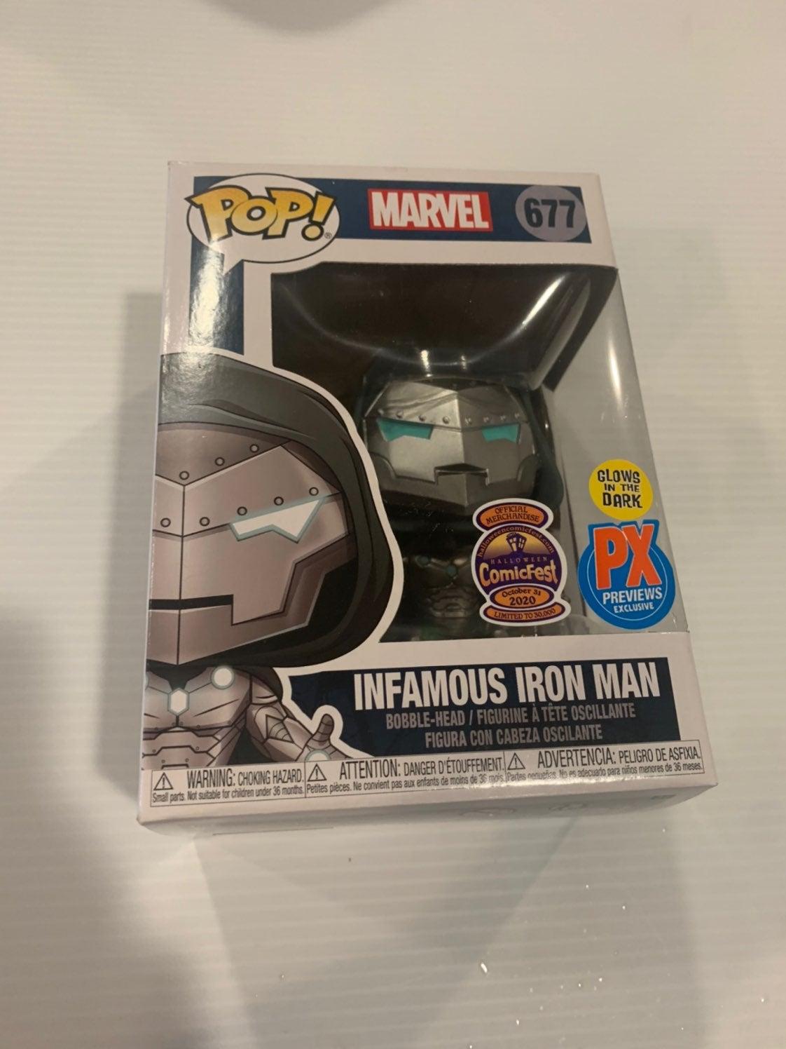 FUNKO POP! MARVeL Infamous Iron Man PX E
