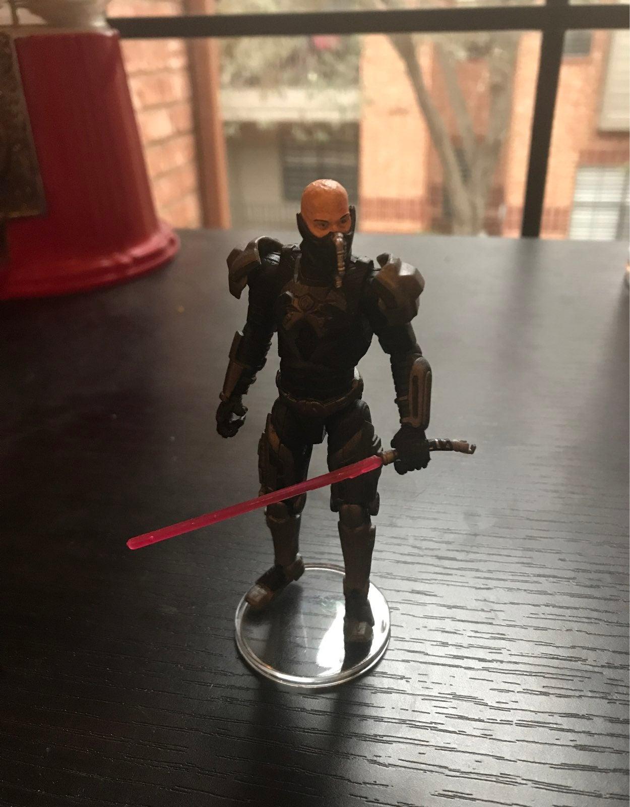 Star wars sith lord darth malgus custom