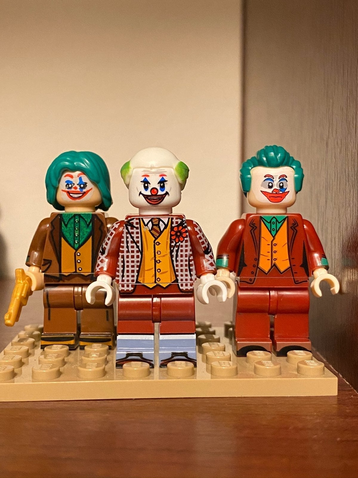 The Joker movie inspired custom minifigs