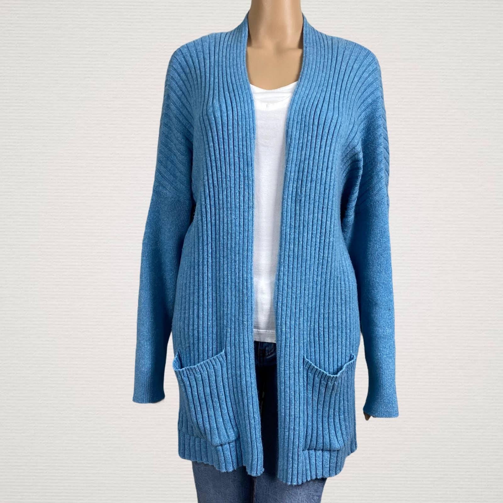 Pure J. Jill Open Cardigan Sweater Large
