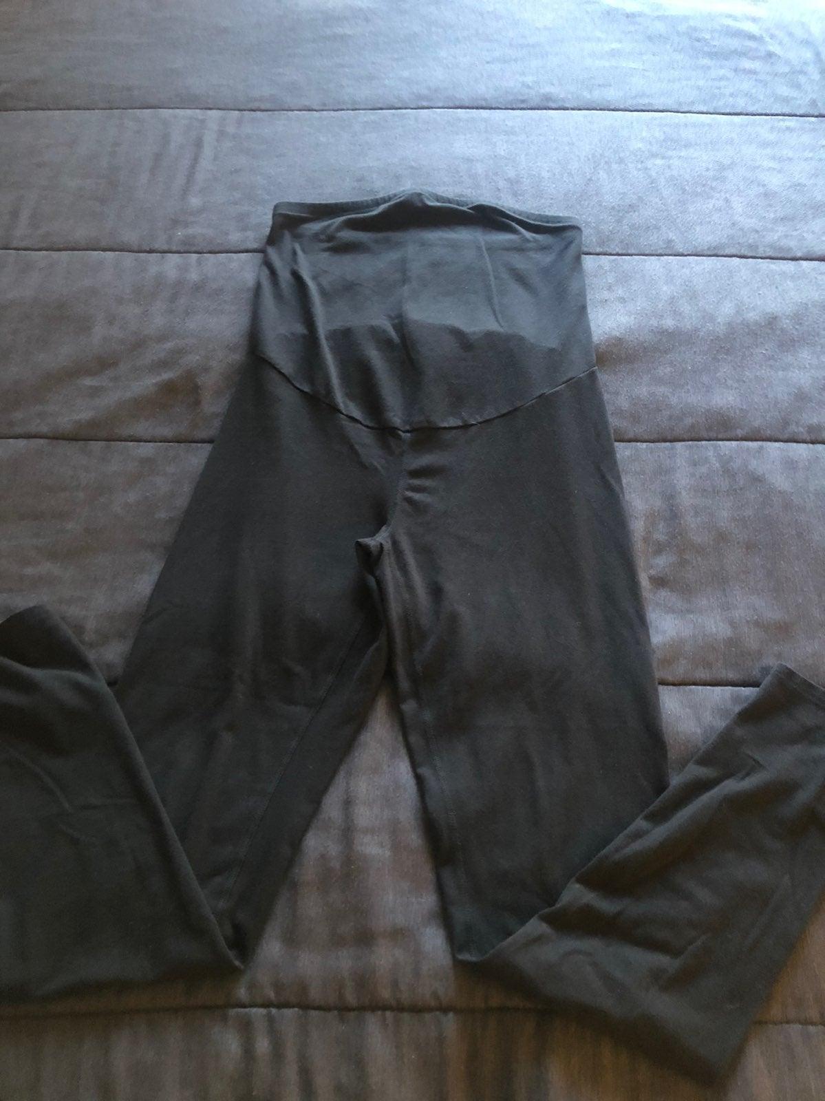 A: Glow maternity leggings black M