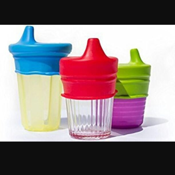 New kids baby Silicone sippy cup lids