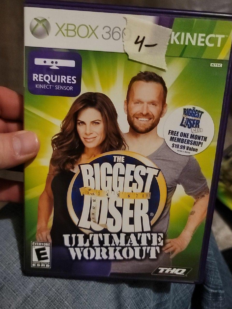 Xbox 360 kinesthetic biggest loser