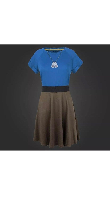 Team Fortress 2 Womens Raglan Dress Cosp