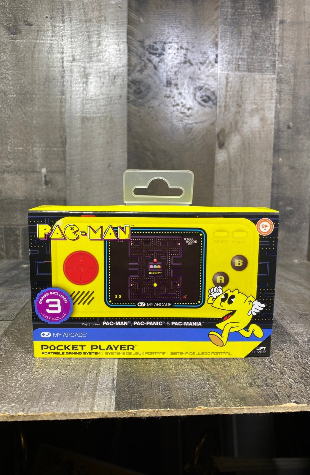 Pac-Man Pocket Player Portable NWT