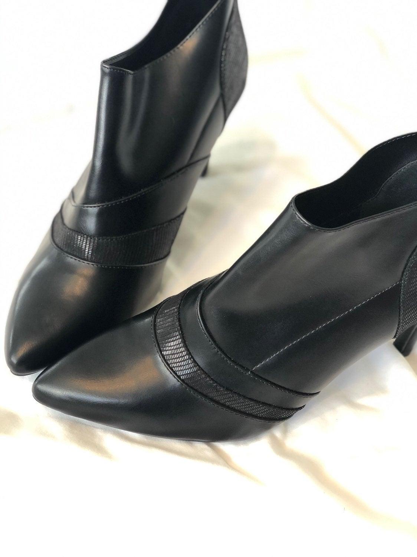 Covington faux leather booties