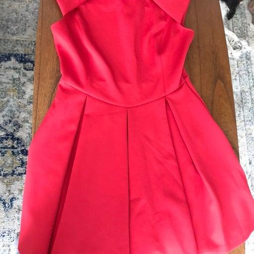 Ted Baker Red Retro Dress