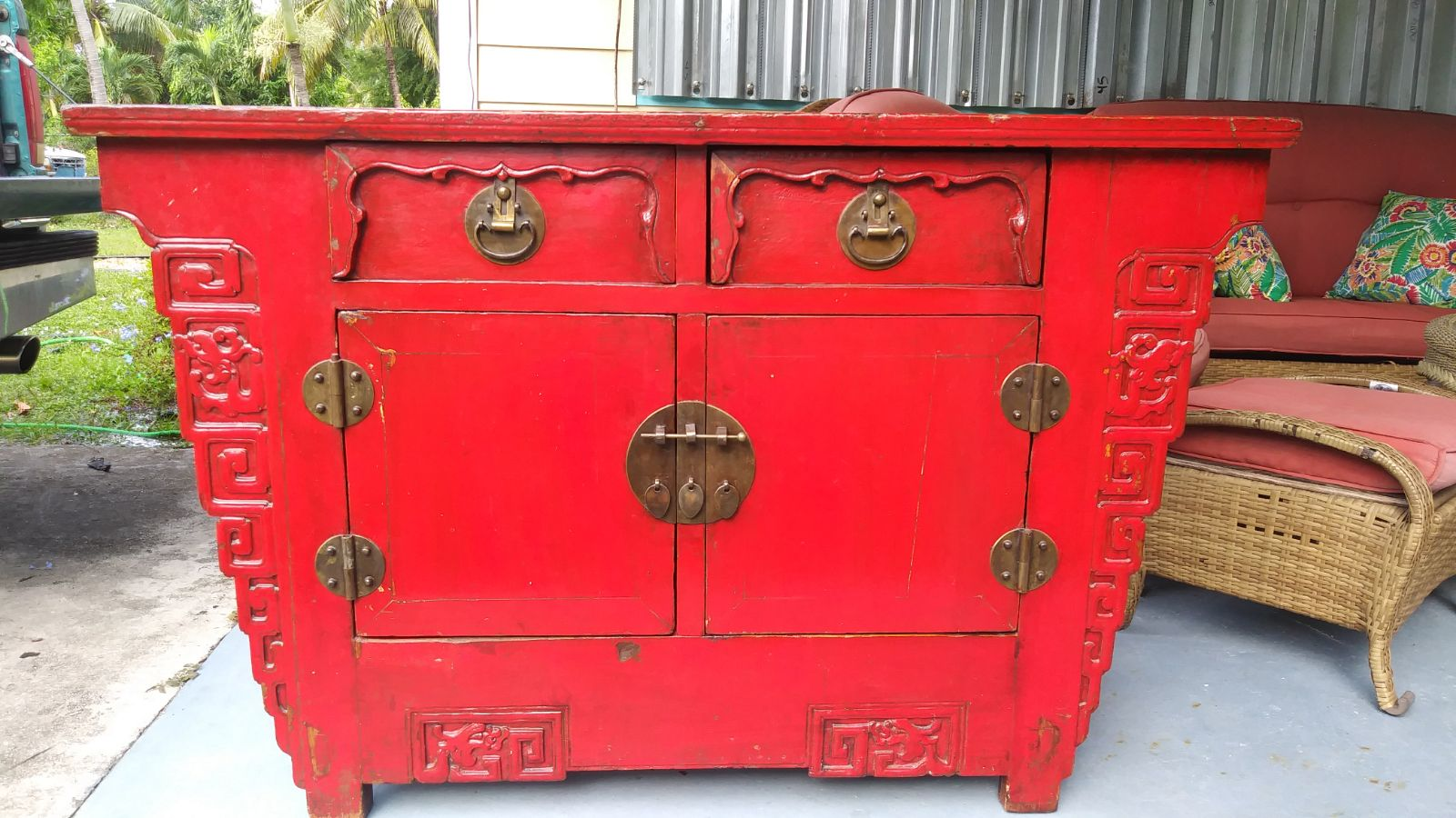 19th Century style Coffer Shanxi China