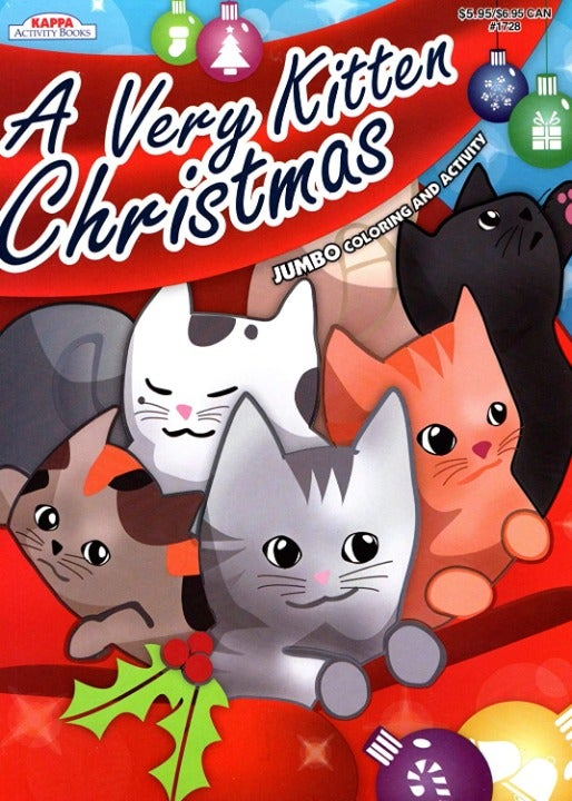 A Very Kitten Christmas - Coloring Book