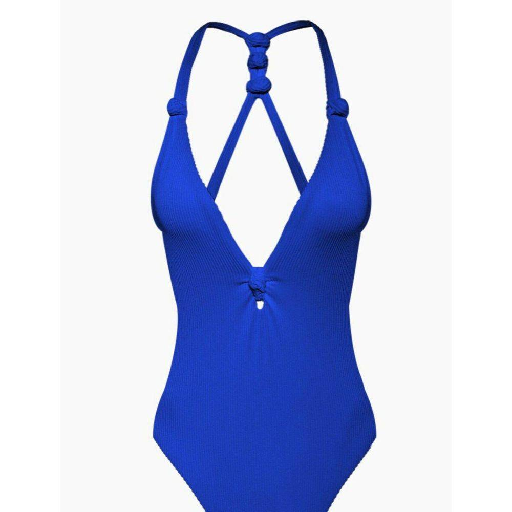 DOLCE VITA Knotted One Piece Swimsuit M