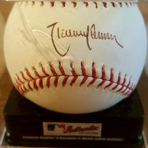 Signed Randy Johnson Ball