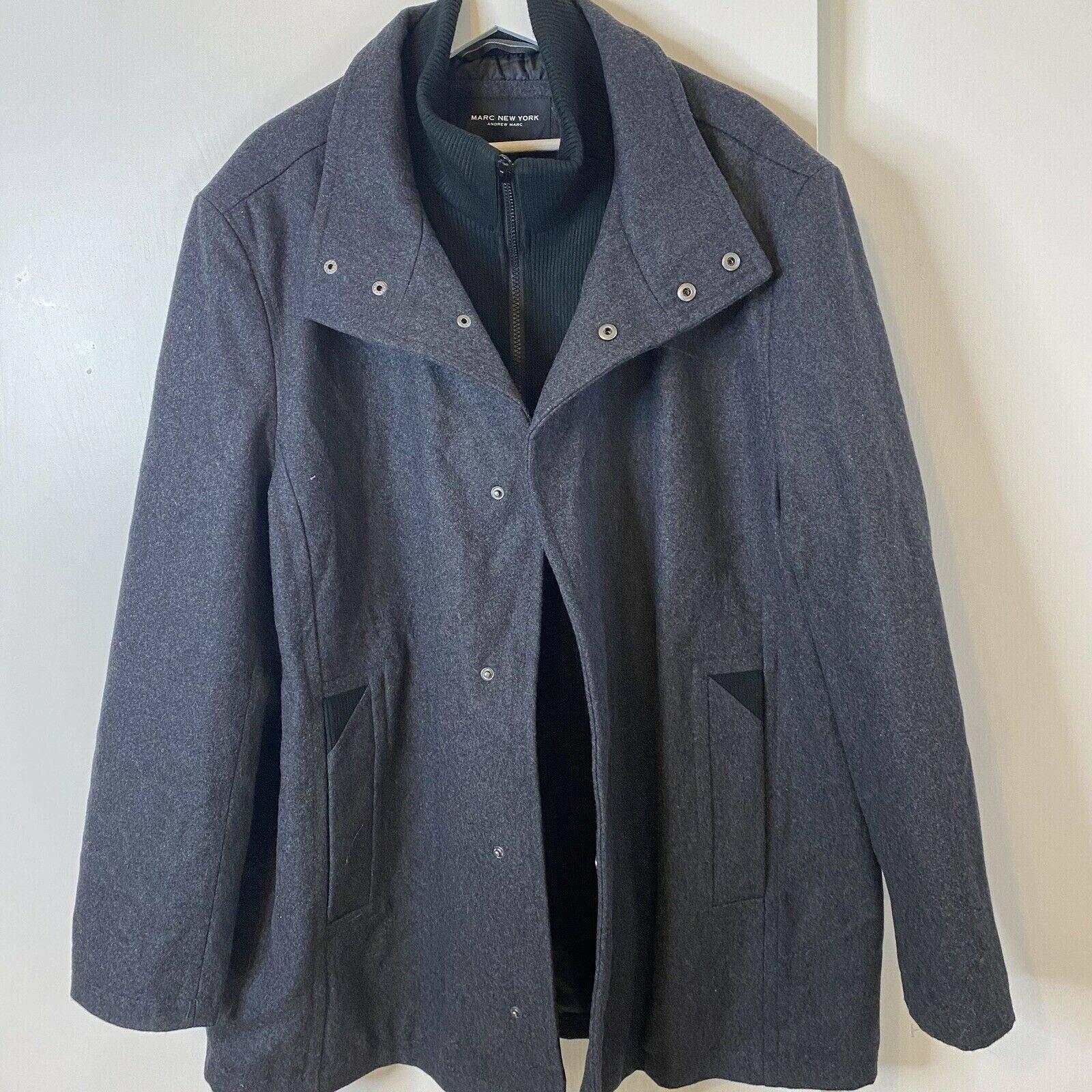 Marc New York  Wool Blend Coat
