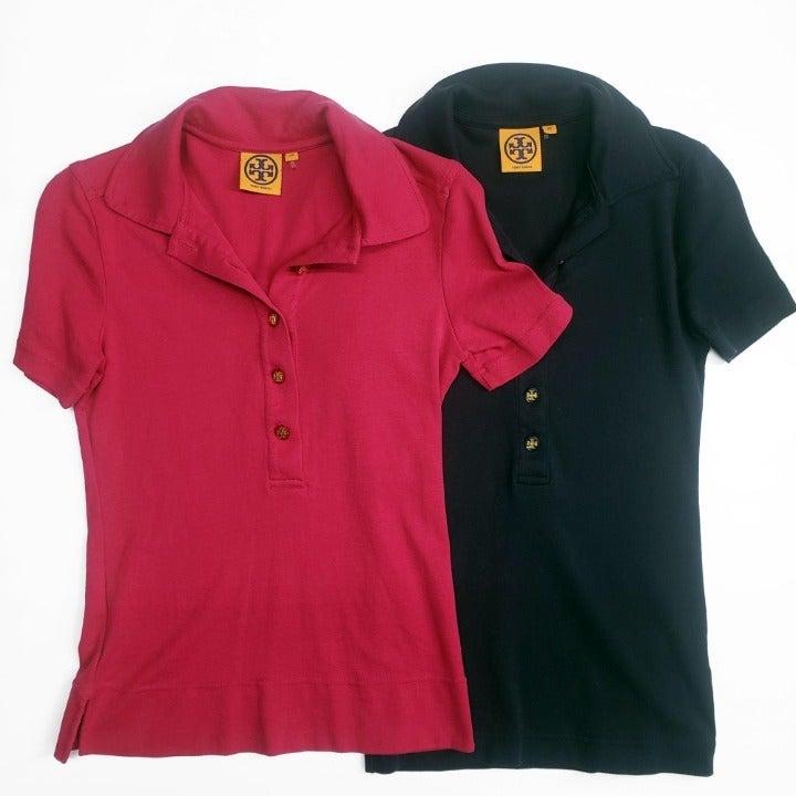 Tory Burch Short Sleeve Polo Shirt LOT