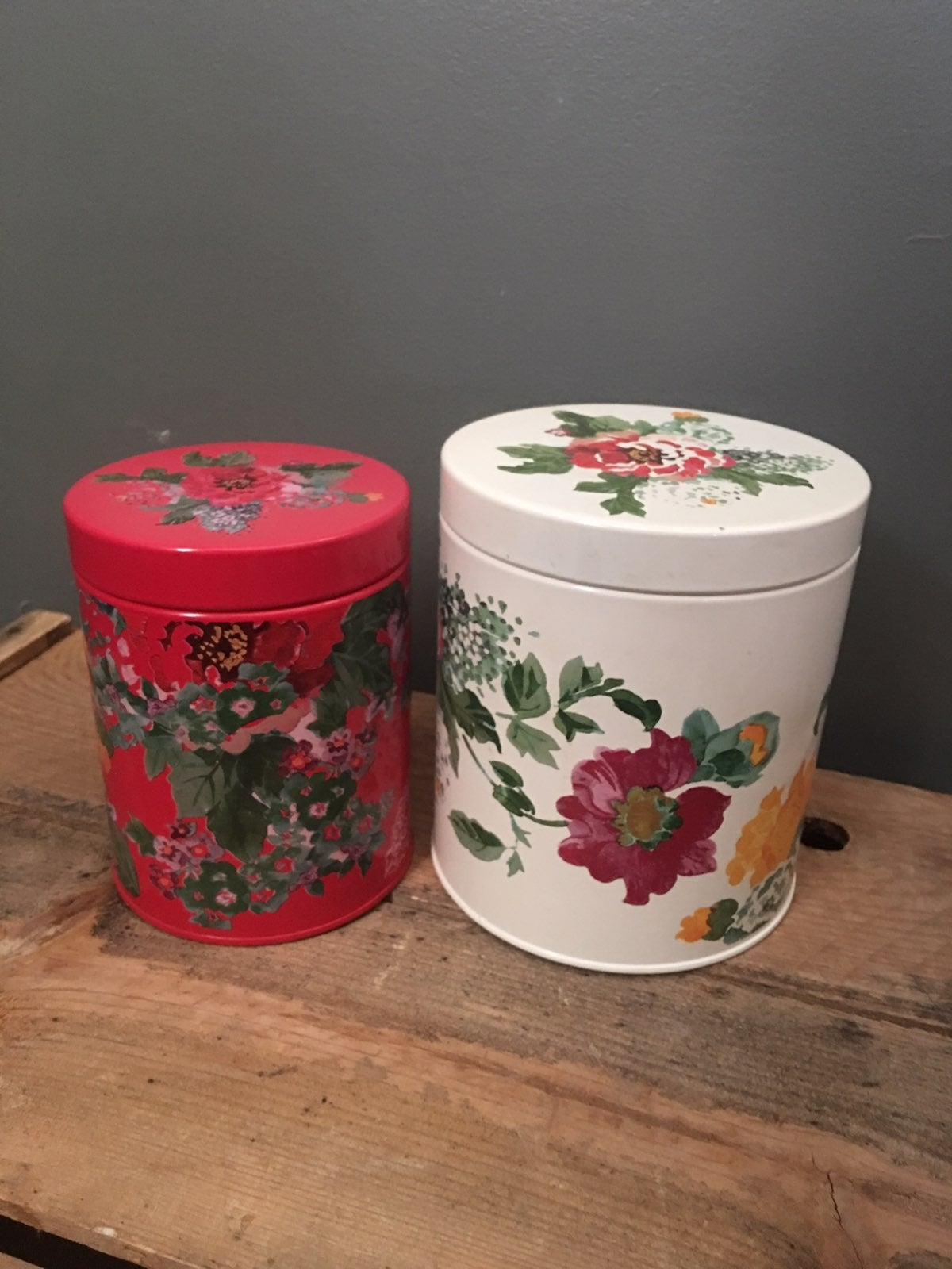 Pioneer Woman canisters