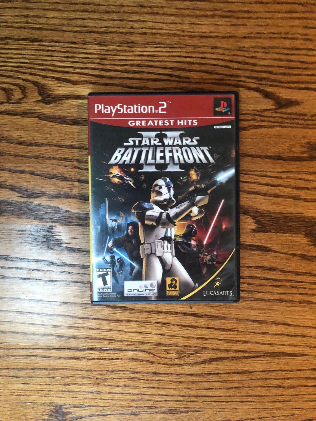 Star Wars Battlefront 2 for PS2