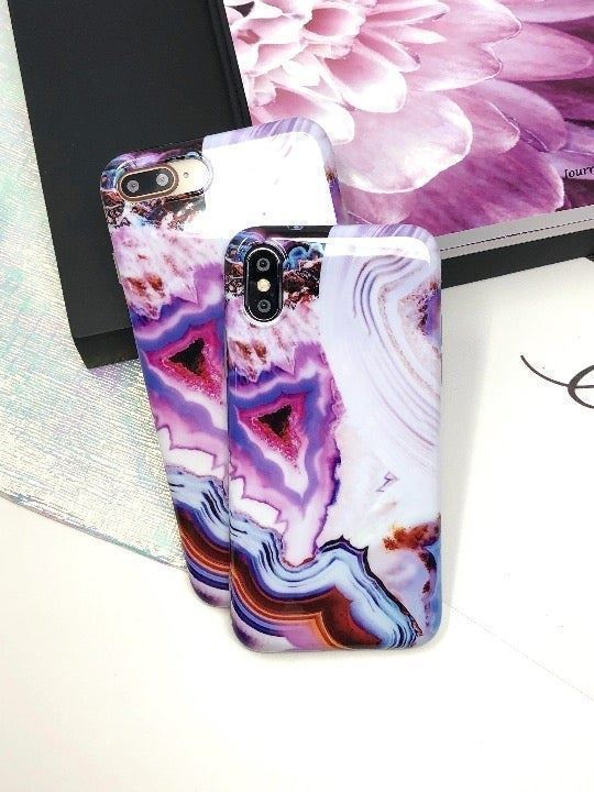 New iPhone XR Abstract Marble Case