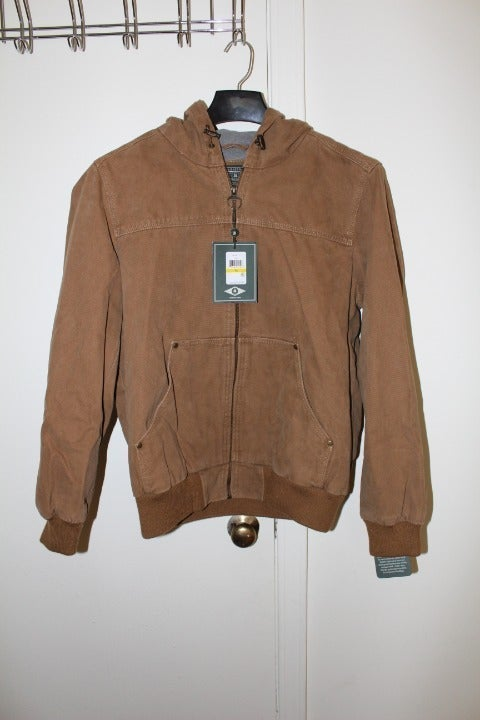 Men Medium Brown Jacket