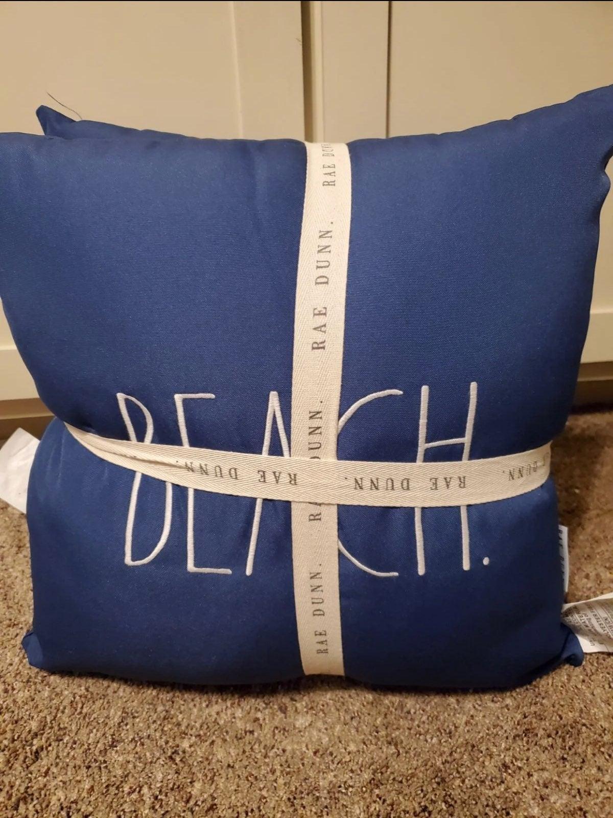 Rae Dunn Outdoor Pillows Beach House