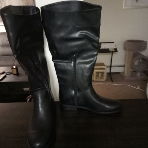 Women's Black JustFab boots