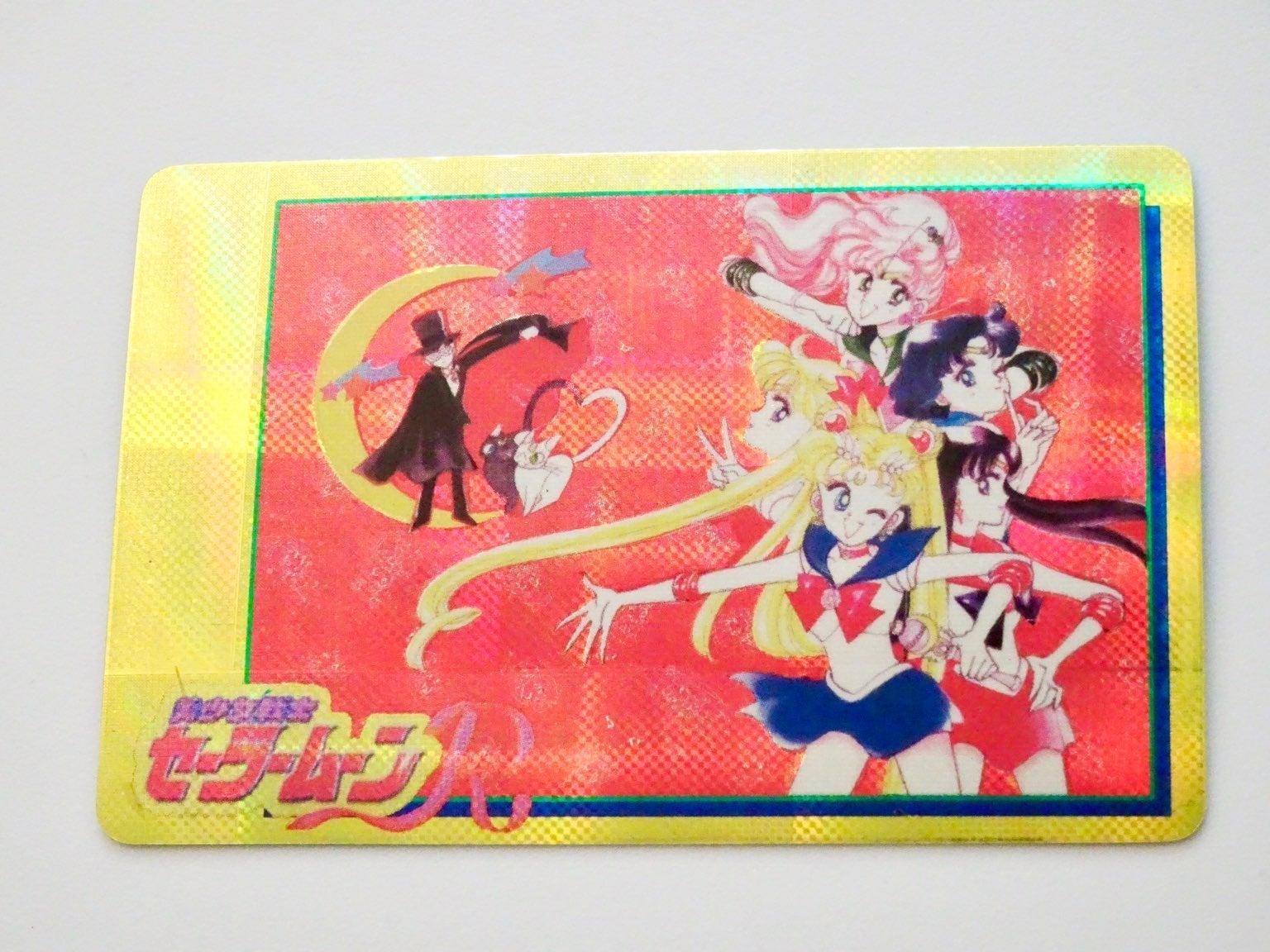 Vintage Sailor Moon R Manga Art Sticker