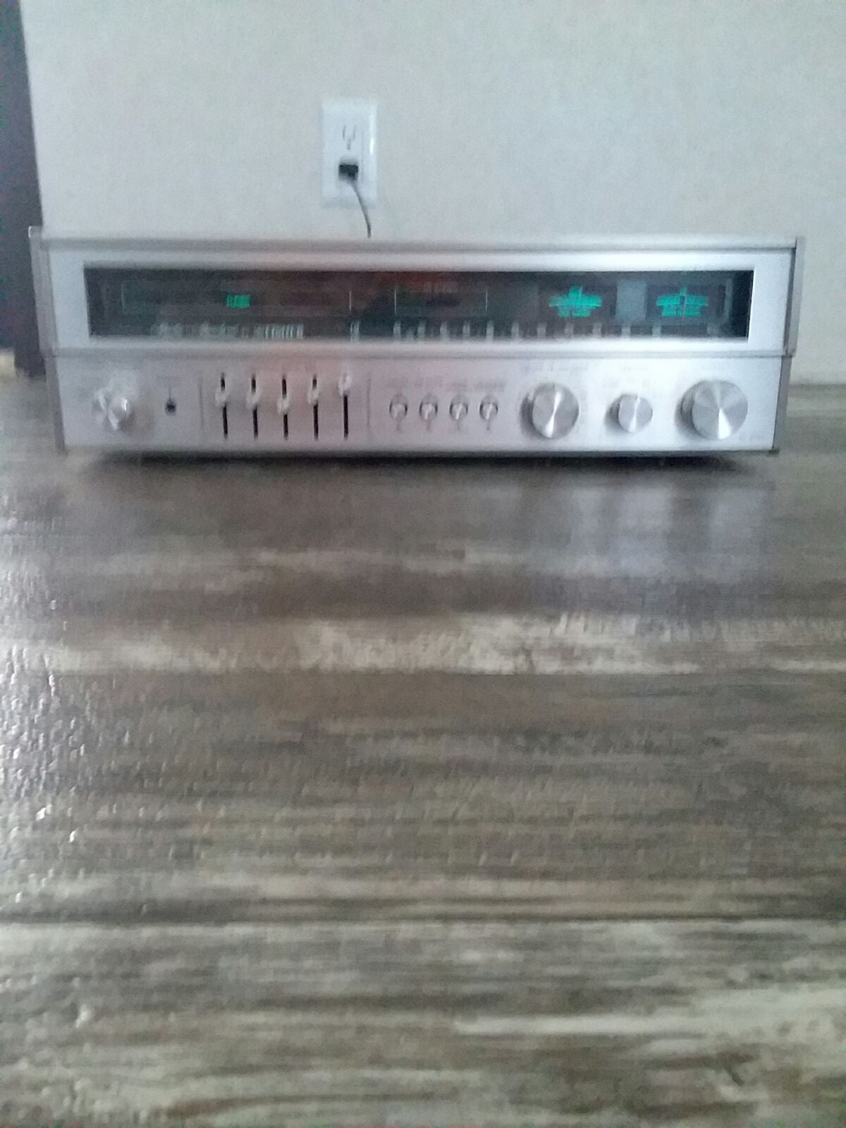 Vintage Fisher stereo receiver model rs-