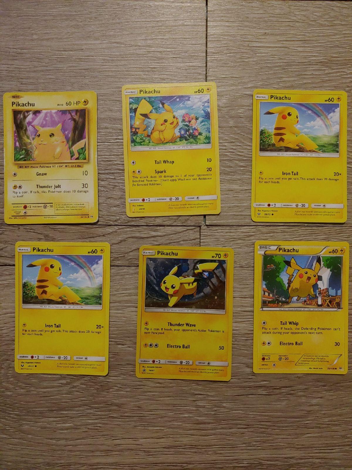Pikachu Cards