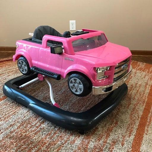 Pink Ford F150 Adjustable Baby Walker EU